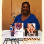 Toya with KRho and SBF at GBC Raleigh Author panel~2