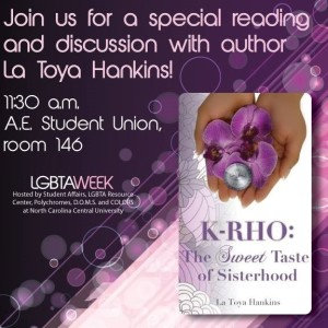 Discussion about K:Rho-the Sweet Taste of Sisterhood.