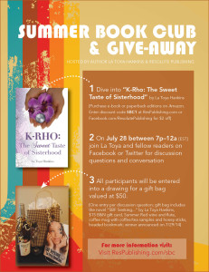 Summer Book Give-Away