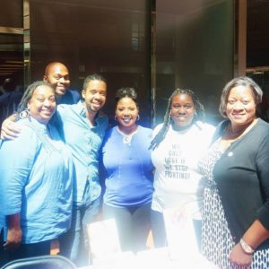 OutWrite 2017 with fellow authors at the D.C. Center